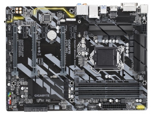 Материнская плата Gigabyte GA-Z370-HD3, ATX, вид 1