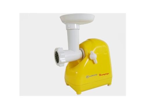 Мясорубка электрическая Белвар КЭМ-П2У-302-09, желтая, вид 1