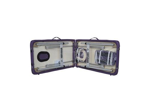 Стол массажный DFC Nirvana Elegant Ultra Light, сиреневый, вид 5