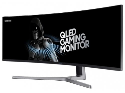 Монитор Samsung C49HG90DMI, черный, вид 1