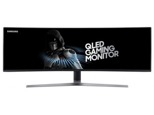 Монитор Samsung C49HG90DMI, черный, вид 2