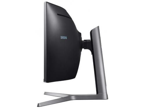 Монитор Samsung C49HG90DMI, черный, вид 3