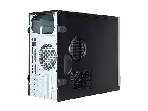 Корпус IN WIN EMR003 450W Black/silver, вид 5