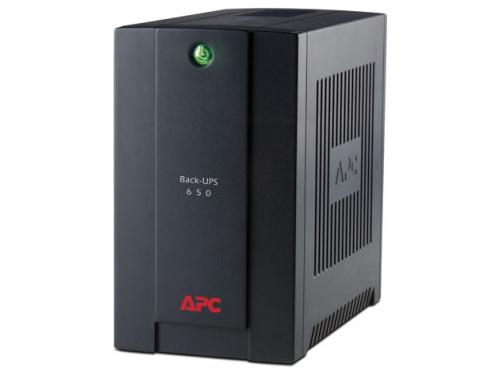 Источник бесперебойного питания APC Back-UPS 650VA AVR 230V CIS, евророзетки (BX650CI-RS), вид 1