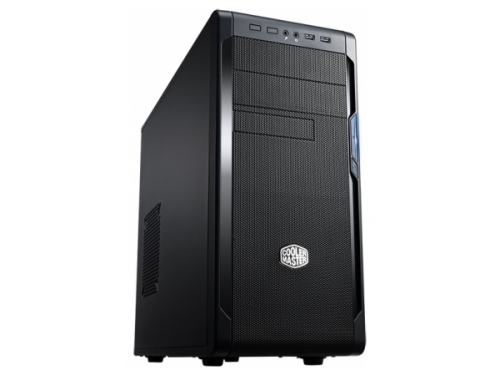 Корпус компьютерный Cooler Master N300 (NSE-300-KKN1) w/o PSU Black, вид 1