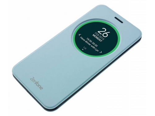 Чехол для смартфона Asus для Asus ZenFone Selfie ZD551KL MyView Cover Delux, голубой, вид 1