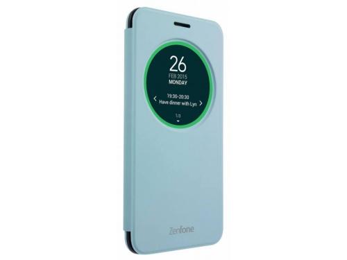 Чехол для смартфона Asus для Asus ZenFone Selfie ZD551KL MyView Cover Delux, голубой, вид 2