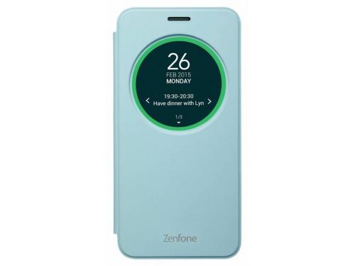 Чехол для смартфона Asus для Asus ZenFone Selfie ZD551KL MyView Cover Delux, голубой, вид 3