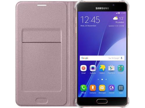 Чехол для смартфона Samsung для Samsung Galaxy A7 (2016) розовое золото, вид 3