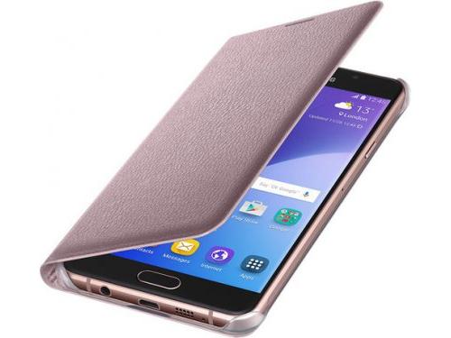 Чехол для смартфона Samsung для Samsung Galaxy A7 (2016) розовое золото, вид 4