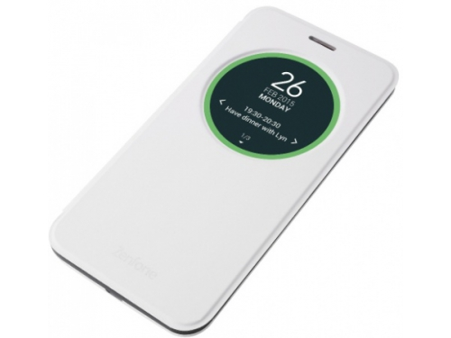 Чехол для смартфона Asus для Asus ZenFone 2 ZE550KL View Flip Cover белый, вид 1
