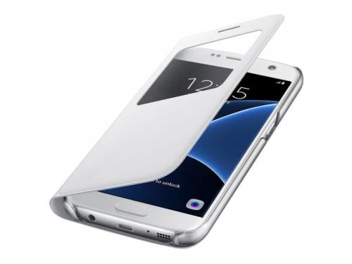 Чехол для смартфона Samsung для Samsung Galaxy S7 S View Cover, белый, вид 3