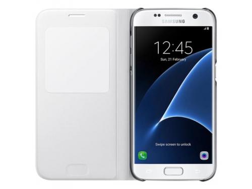 Чехол для смартфона Samsung для Samsung Galaxy S7 S View Cover, белый, вид 2