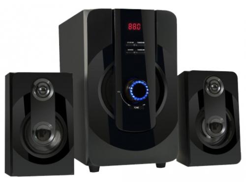 Компьютерная акустика Defender 2.1  BLAZE M40 PRO Bluetooth MP3, SD/USB, дер. кор 20+2*10W, вид 1