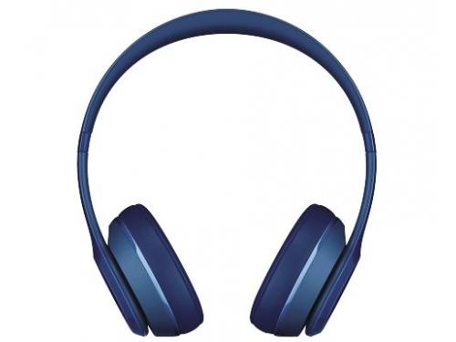 Гарнитура bluetooth Beats Solo2 Wireless (MHNM2ZE/A), синяя, вид 1