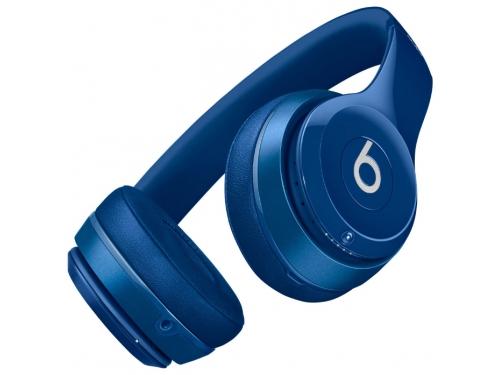 Гарнитура bluetooth Beats Solo2 Wireless (MHNM2ZE/A), синяя, вид 2