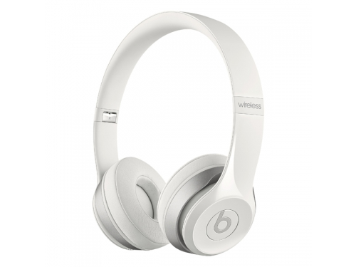 Гарнитура bluetooth Beats Solo 2 Wireless Gloss (MP1G2ZE/A), белая, вид 1