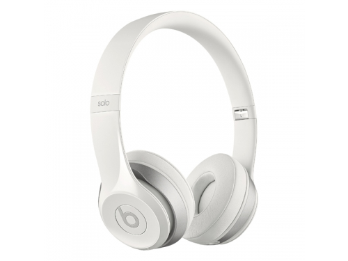 Гарнитура bluetooth Beats Solo 2 Wireless Gloss (MP1G2ZE/A), белая, вид 2