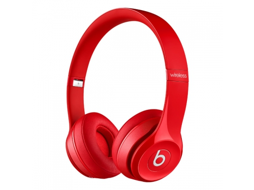 Гарнитура bluetooth Beats Solo2 Wireless (MHNJ2ZE/A), красная, вид 2