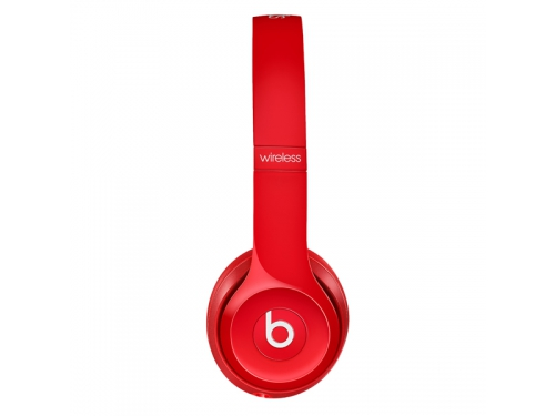 Гарнитура bluetooth Beats Solo2 Wireless (MHNJ2ZE/A), красная, вид 4