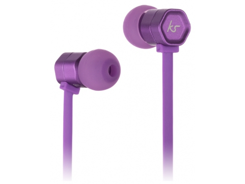 Гарнитура для телефона Kitsound Hive, фиолетовая, вид 2