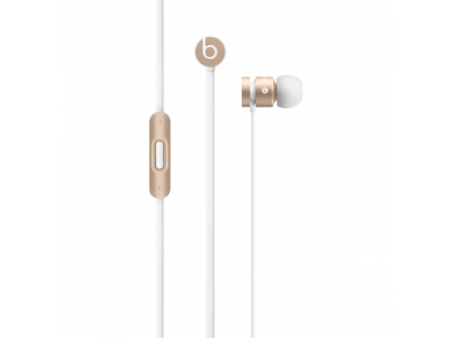 Гарнитура для телефона Beats urBeats 2 (MK9X2ZE/A), золотистая, вид 1