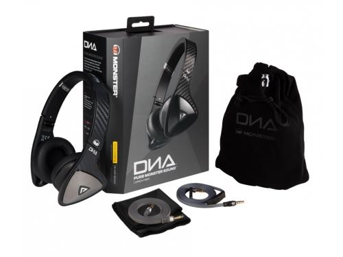 Гарнитура для телефона Monster DNA On-Ear (137008), угольно-чёрный, вид 7