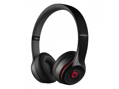Гарнитура bluetooth Beats Solo 2 Wireless  (MHNG2ZE/A) чёрный, вид 2