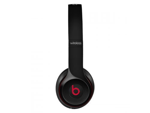 Гарнитура bluetooth Beats Solo 2 Wireless  (MHNG2ZE/A) чёрный, вид 4