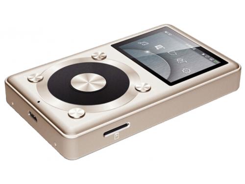 Аудиоплеер FiiO X1, золотистый, вид 2