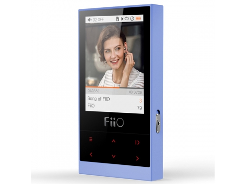 Аудиоплеер FiiO M3, синий, вид 2