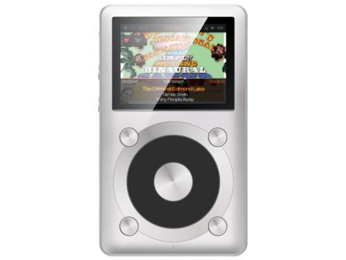 Аудиоплеер FiiO X1, серебристый, вид 2