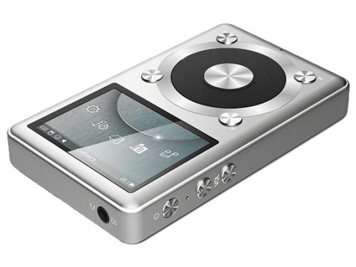Аудиоплеер FiiO X1, серебристый, вид 1