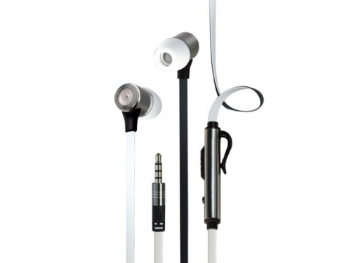 Гарнитура для телефона InterStep BWhite Headset, белая, вид 1