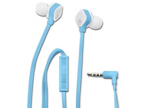Гарнитура для телефона HP H2310, голубая, вид 2
