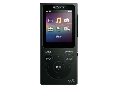 Аудиоплеер Sony Walkman NW-E395, черный, вид 1