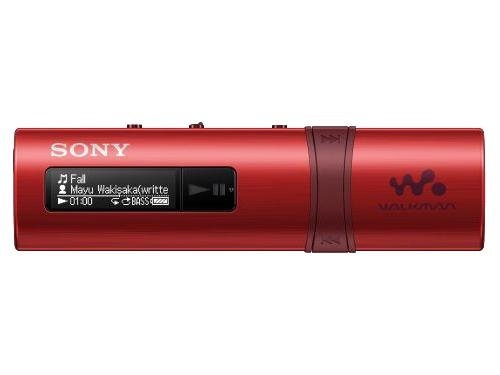 Аудиоплеер Sony Walkman NWZ-B183F, красный, вид 1