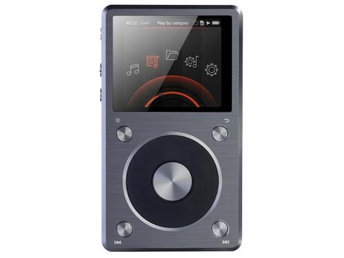 Аудиоплеер FiiO X5 II, серебристый, вид 1
