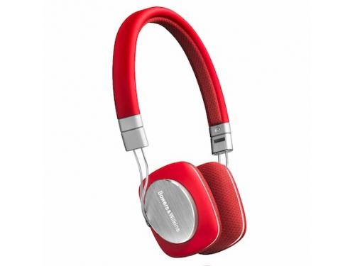 Bowers-&-Wilkins P3, красная с серым