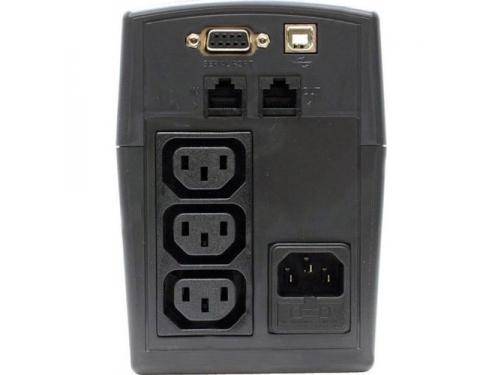 Источник бесперебойного питания CyberPower VALUE800EI-B black 800VA/480W, вид 2