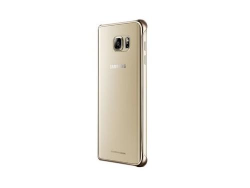 Чехол для смартфона Samsung для Samsung Galaxy Note 5 Glossy Cover золотистый/прозрачный, вид 3