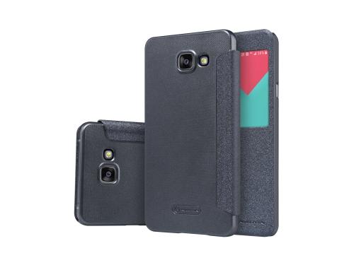 Чехол для смартфона Nillkin Sparkle Leather Case для Samsung Galaxy A7 2016 (A710) черный, вид 1