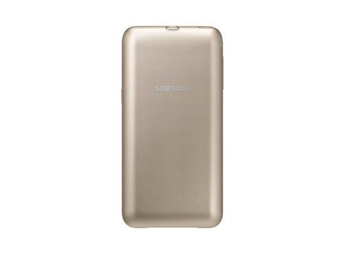 Чехол-аккумулятор Samsung для Samsung Galaxy S6 Edge Plus EP-TG928 золотистый, вид 1