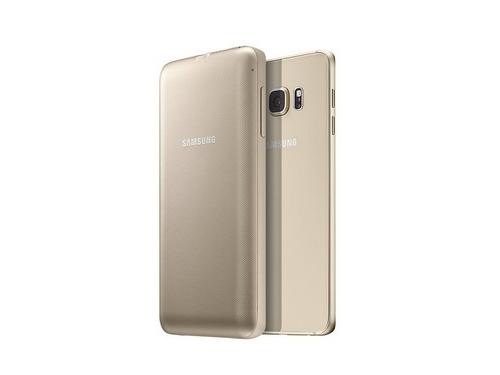 Чехол-аккумулятор Samsung для Samsung Galaxy S6 Edge Plus EP-TG928 золотистый, вид 4