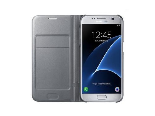 Чехол для смартфона Samsung для Samsung Galaxy S7 LED View Cover серебристый, вид 3