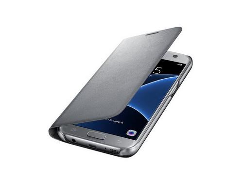 Чехол для смартфона Samsung для Samsung Galaxy S7 LED View Cover серебристый, вид 4
