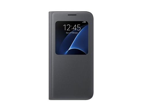 Чехол для смартфона Samsung для Samsung Galaxy S7 S View Cover чёрный, вид 1