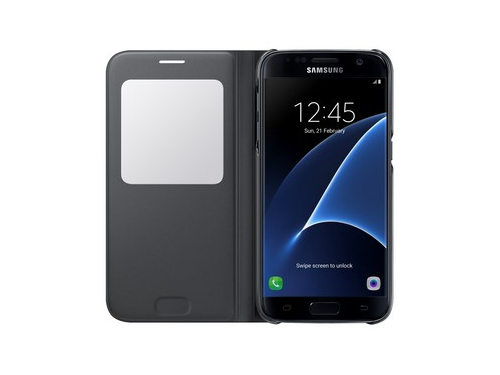 Чехол для смартфона Samsung для Samsung Galaxy S7 S View Cover чёрный, вид 3