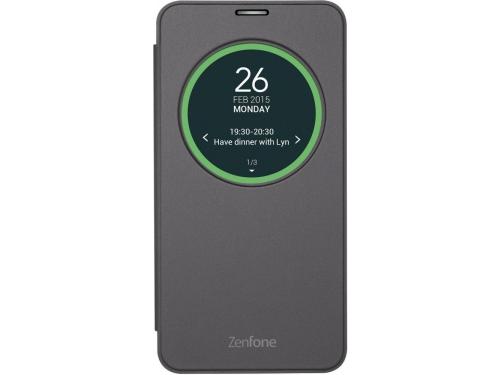 Чехол для смартфона Asus для Asus ZenFone GO ZC500TG View Flip Cover чёрный, вид 1