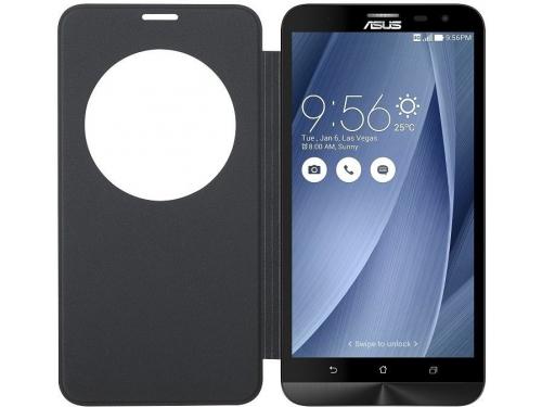 Чехол для смартфона Asus для Asus ZenFone GO ZC500TG View Flip Cover чёрный, вид 2